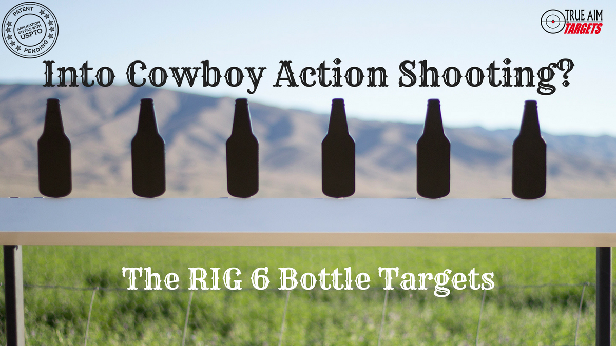 True Aim Targets RIG 6 Bottle Targets