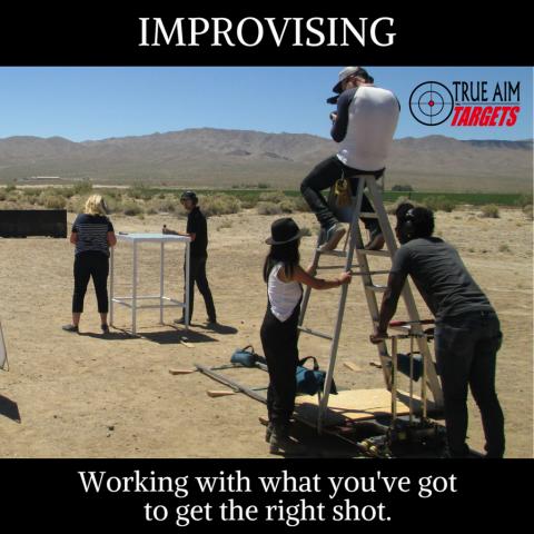 definition of improvising